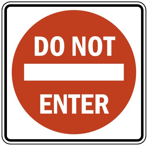 Regulation sign clipart.