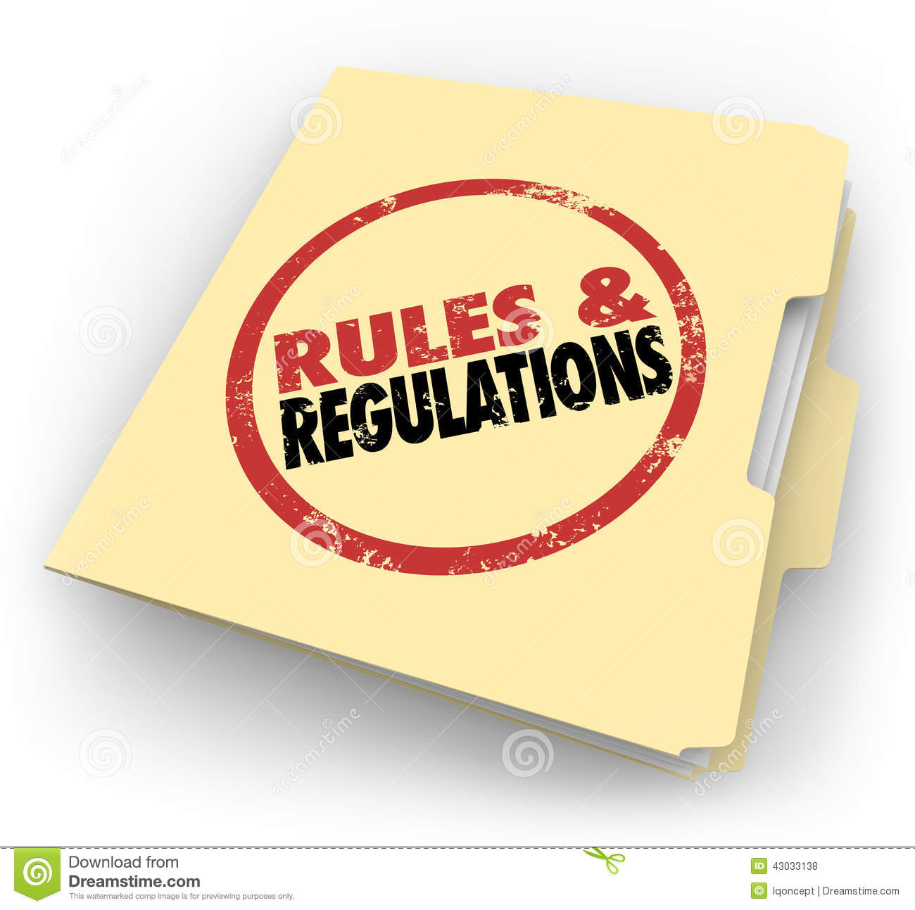 Regulatory Clip Art.