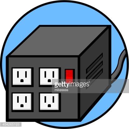 Automatic Voltage Regulator premium clipart.
