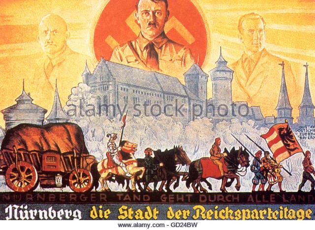 Adolf Hitler Propaganda Poster Stock Photos & Adolf Hitler.