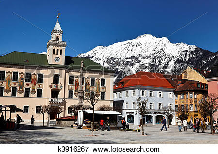 Picture of Staatsbad Bas Reichenhall in Bavaria k3916267.