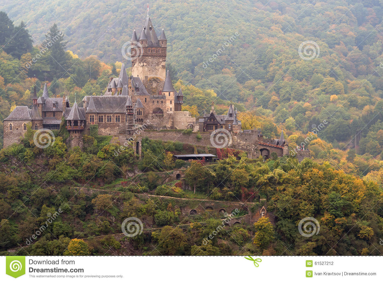 Imperial Castle Cochem.