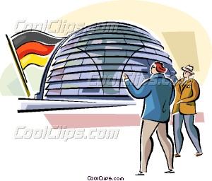 Berlin Reichstag Vector Clip art.