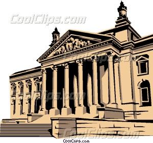 Reichstag Vector Clip art.