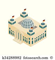 Reichstag building Clipart Royalty Free. 42 reichstag building.