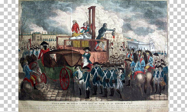Reign of Terror French Revolution France Guillotine.