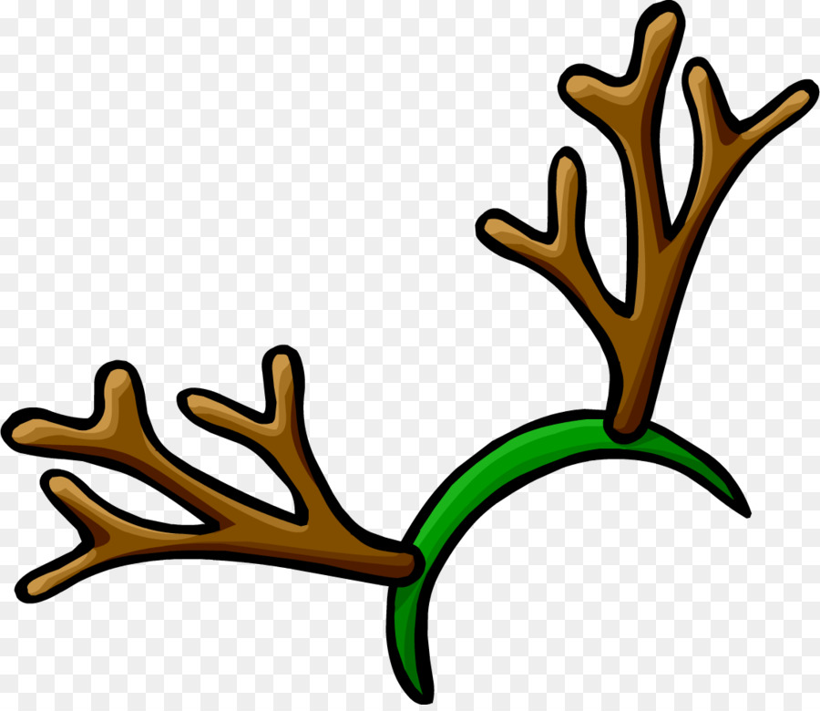 Flower Antlers clipart.