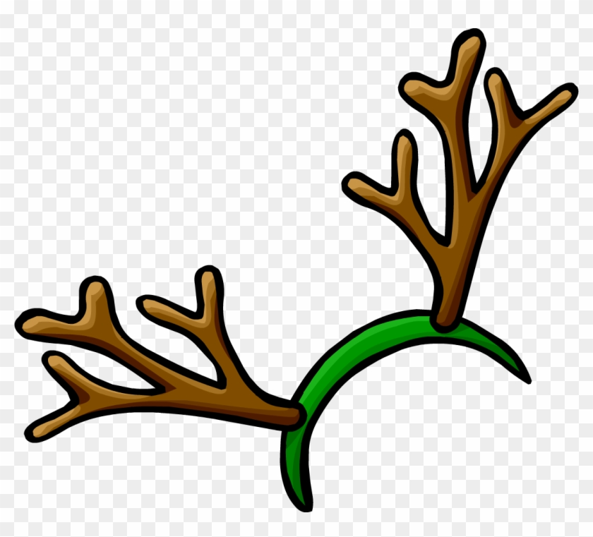 Rudolph Antlers Png.