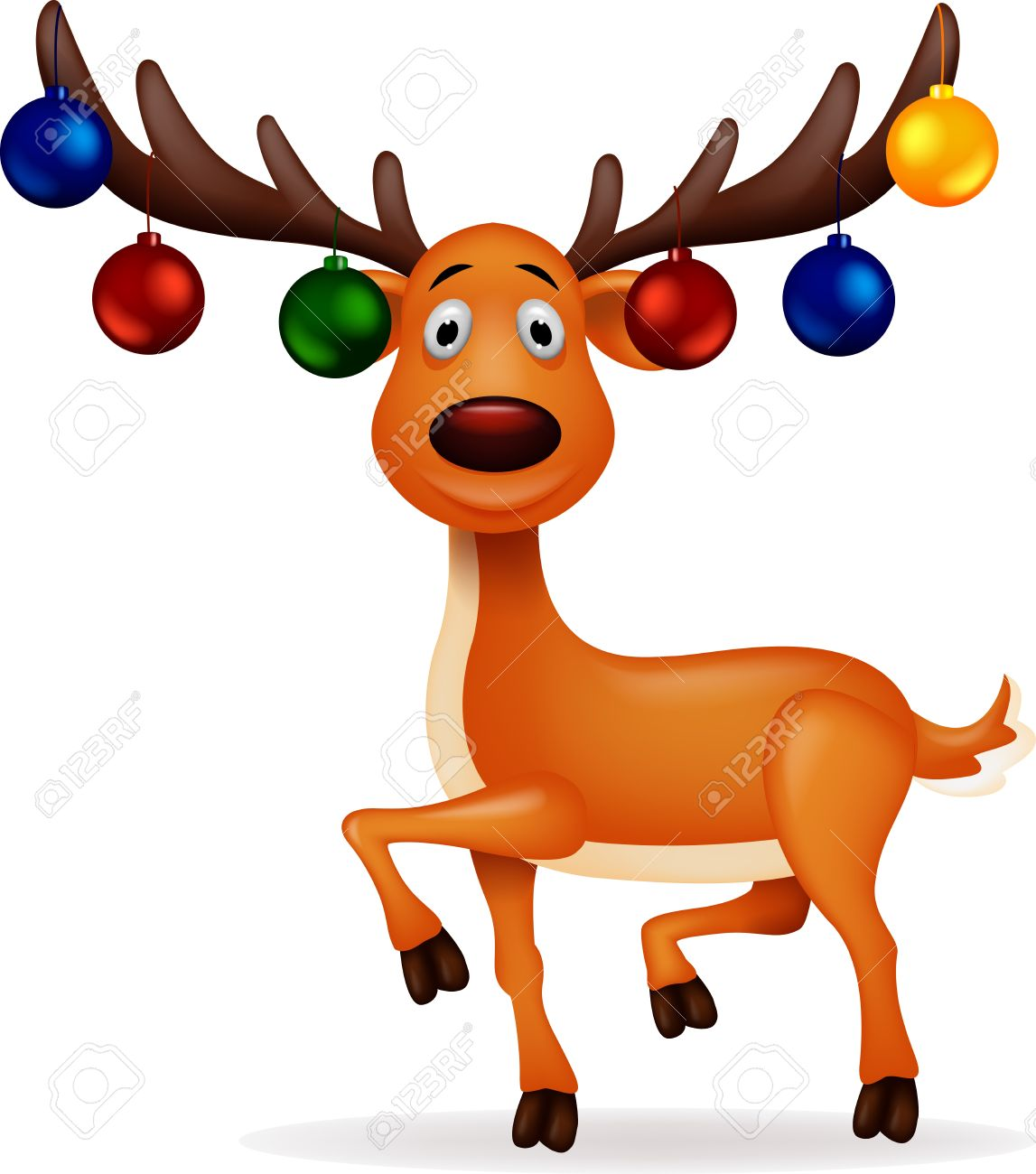 34,803 Christmas Reindeer Stock Vector Illustration And Royalty.