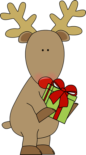 Reindeer Christmas Clipart Free.