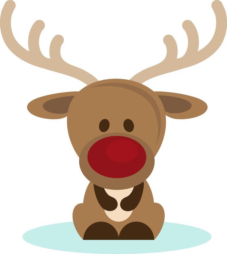 reindeer christmas clipart #11