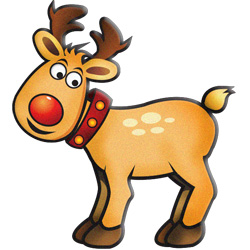 reindeer christmas clipart free #15