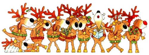 71+ Reindeer Clipart Free.