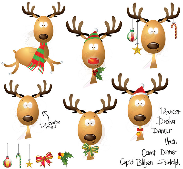 Free Reindeer Pics, Download Free Clip Art, Free Clip Art on.