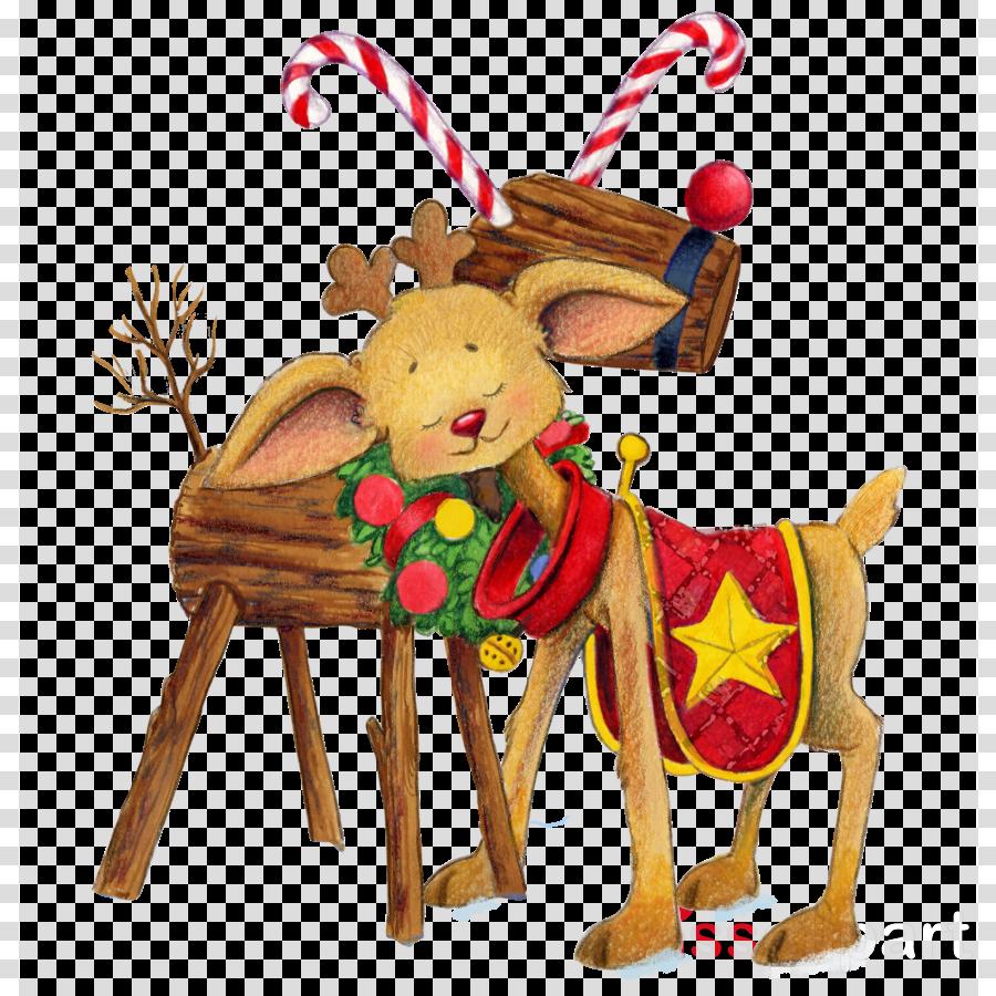 Reindeer, Deer, Christmas, transparent png image & clipart.