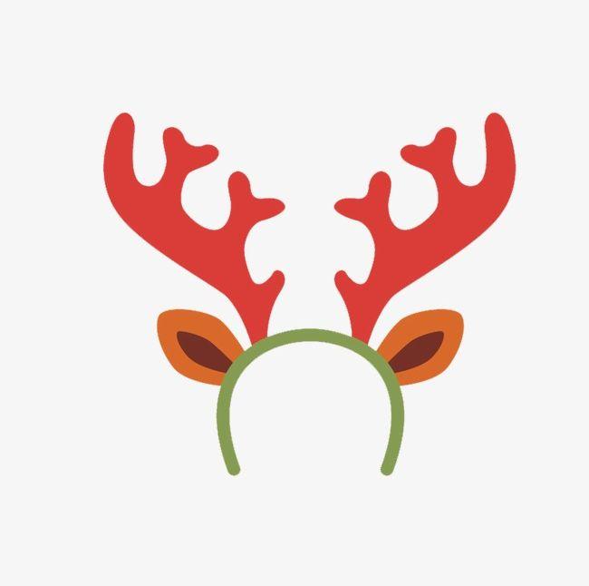 Cartoon Reindeer Headband PNG, Clipart, Cartoon Clipart.