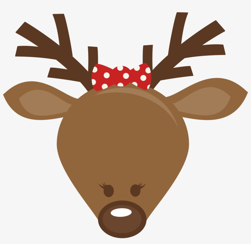 Antler Clipart Felt Reindeer.