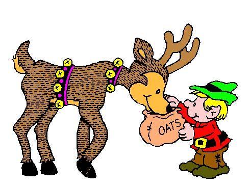 Do It 101 Free Clip Art Christmas Reindeer.