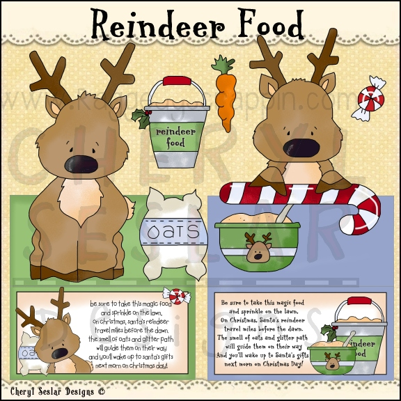 Reindeer food clipart » Clipart Station.
