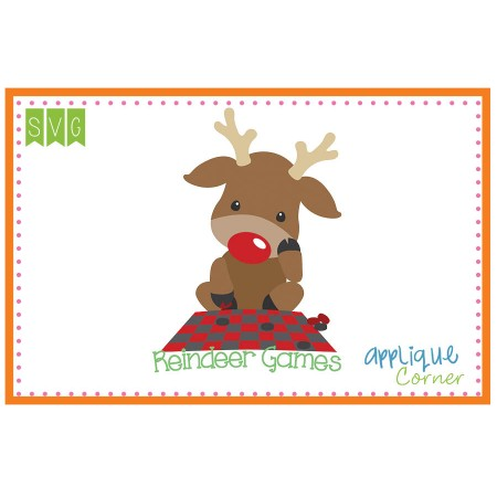 Applique Corner Search results for: \'reindeer games\'.