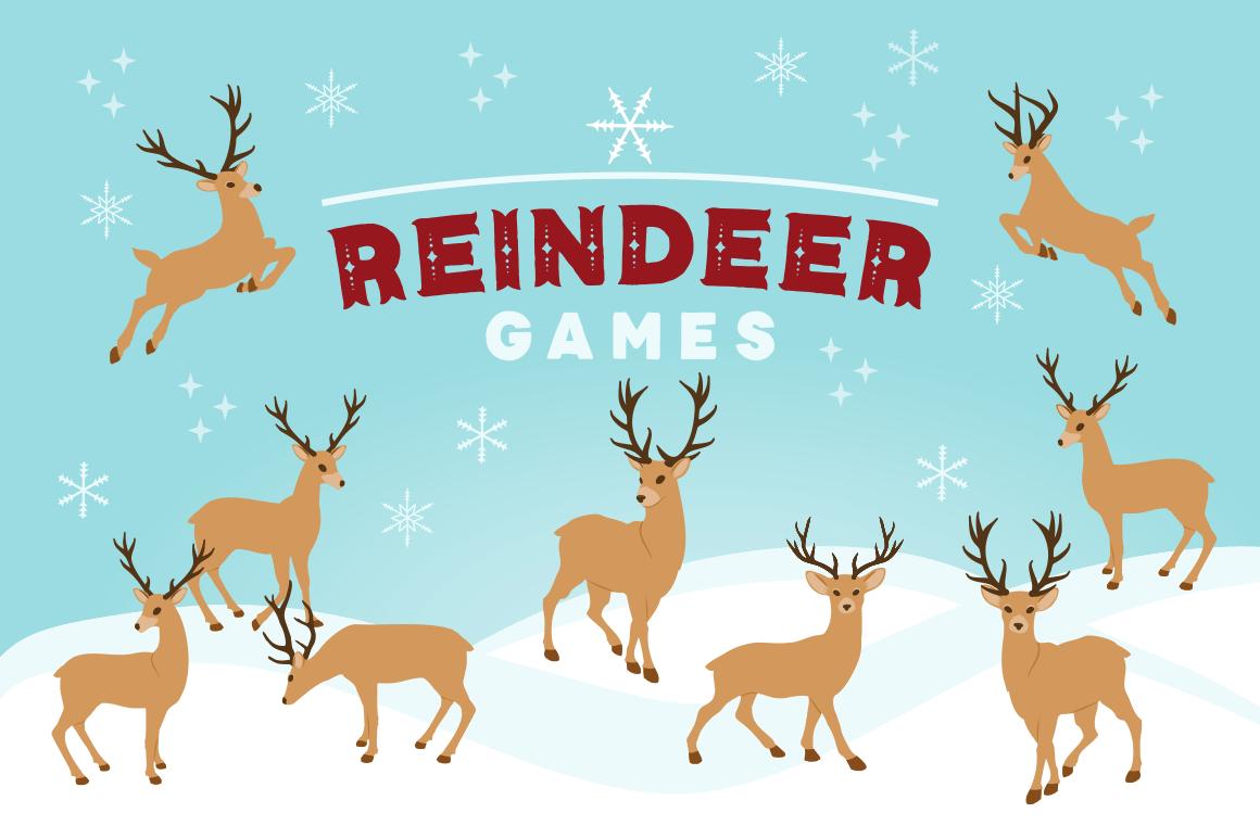 Reindeer games clipart 2 » Clipart Portal.
