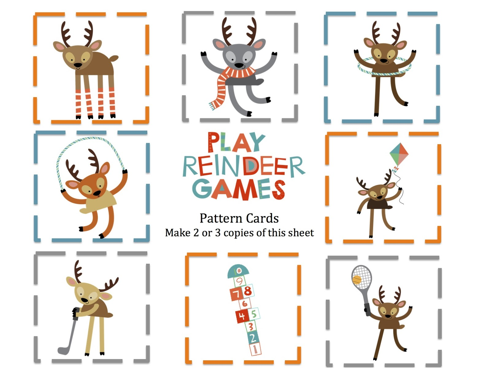 Free Reindeer Games Cliparts, Download Free Clip Art, Free.
