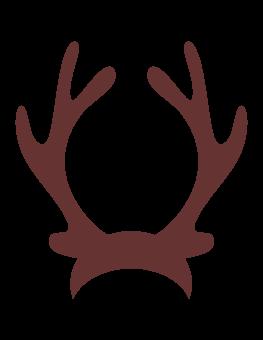 233 Reindeer Antlers free clipart.