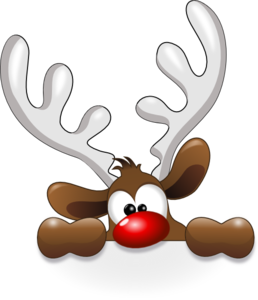 Reindeer Head Clip Art at Clker.com.