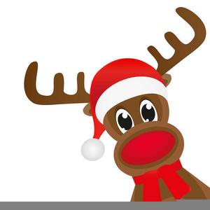 Free Reindeer Hooves Clipart.