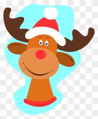 Free PNG Reindeer Noses Clip Art Download.