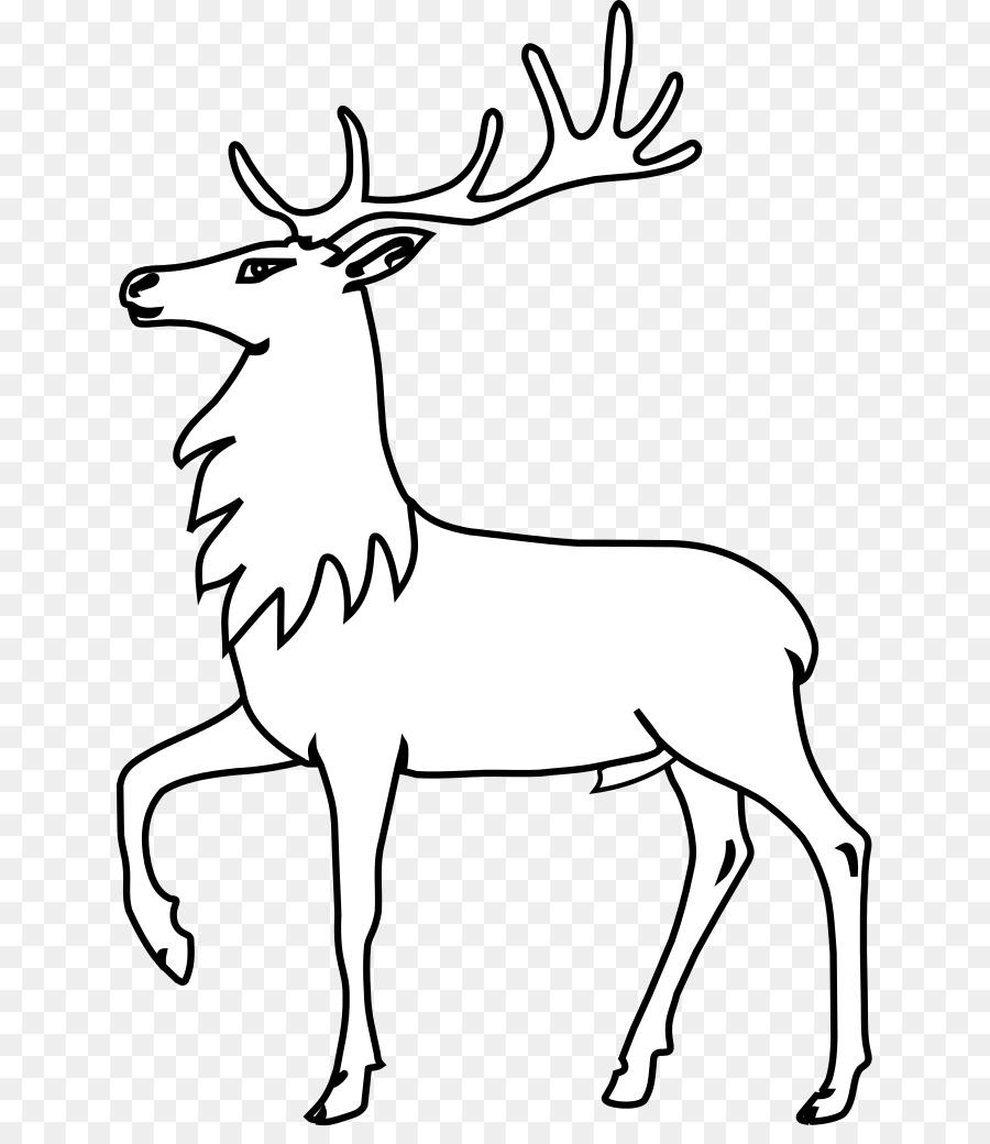 Reindeer Cartoon clipart.