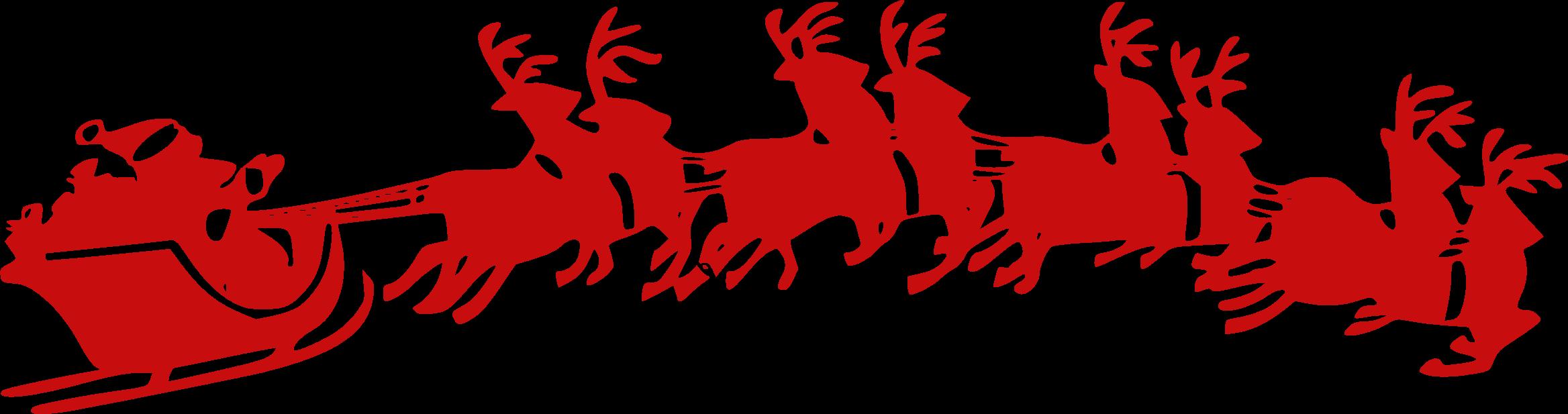 Santa Sleigh PNG Pictures, Santa Sleigh Clipart Free.