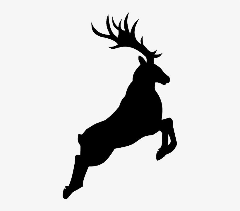 Deer Silhouette Png.