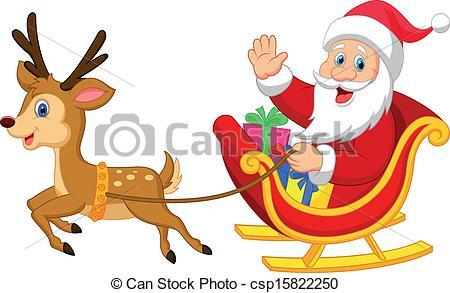 Santa Sleigh Clipart & Santa Sleigh Clip Art Images.