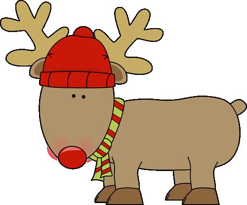 Clip Art Reindeers.