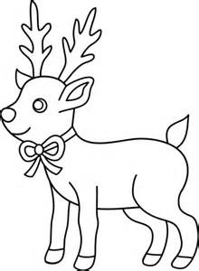 Tan Deer Outline Clip Art At Clker.
