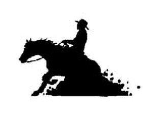 Reining Horse Clip Art.