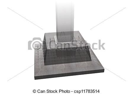 Reinforced concrete clipart #1