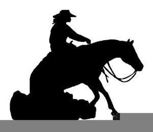 Reining Horse Clipart.