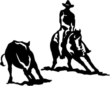 Free Reining Horse Silhouette, Download Free Clip Art, Free.