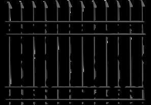 Iron Fence Clip Art at Clker.com.