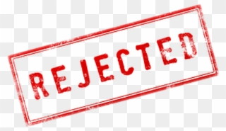 Rejected Stamp Png Clip Art Transparent Download.