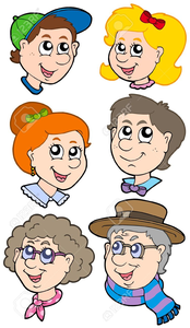 Relatives Clipart.