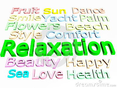 Rest And Relaxation Clipart.