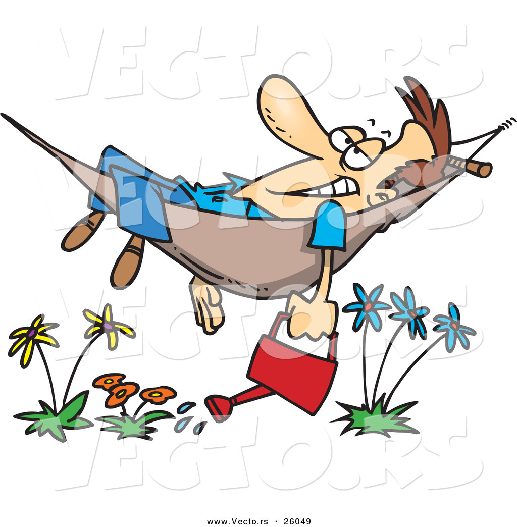 Relaxed clipart #20