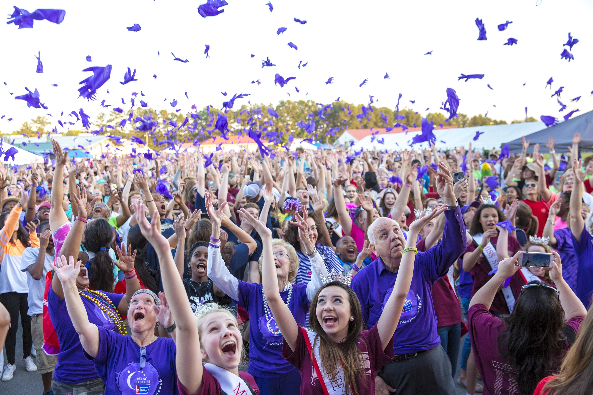 Relay for Life gets underway Today at American University.