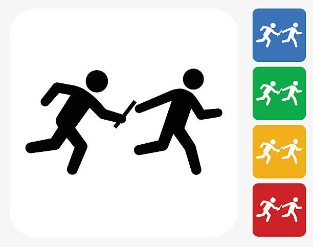 Relay race clipart 6 » Clipart Station.