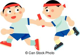 Relay race Illustrations and Stock Art. 378 Relay race.