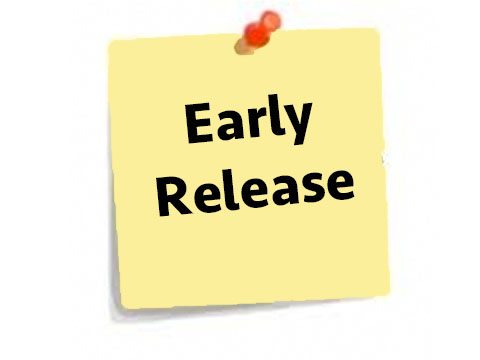 Early release clipart.