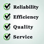 Reliability Clip Art.